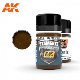 Pigment ombre brulée AK143 AK INTERACTIVE