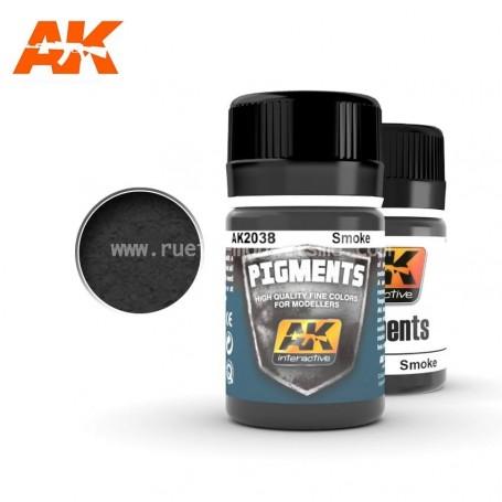 Pigment fumée AK2038 AK INTERACTIVE