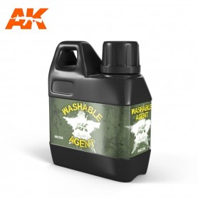 Washable agent AK236  AK INTERACTIVE