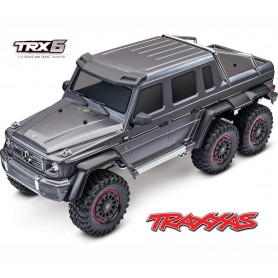 TRX6 Mercedes-Benz G 63 AMG 6x6  RTR 88096-4 gris Traxxas