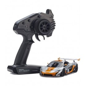 MINI-Z RWD McLaren P1™ GTR Silver/Orange RTR 32324SO Kyosho