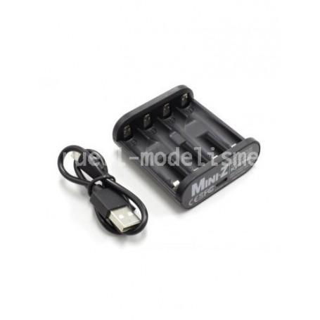 Chargeur Speed House AA/AAA NIMH USB 71999 Kyosho