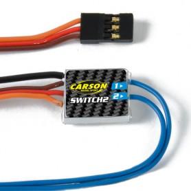 Interrupteur électronique 2 Reflex 6 / 14Ch 500503060 Carson