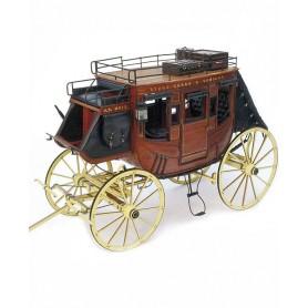Diligence 1848  'Stage Coach' 20340 Artesania Latina