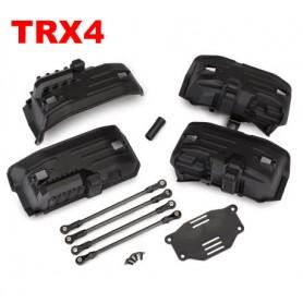 Kit conversion empattement long à court TRX4 8058 Traxxas