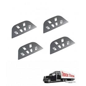 Plaques marche-pieds en alu. 00142 Truck Tech