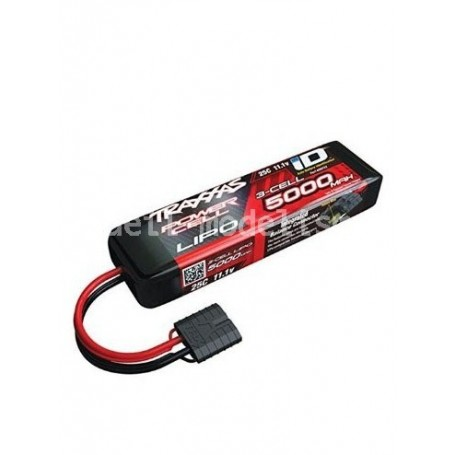 Batterie 11,1V 5000 mah ID LIPO 2872X Traxxas