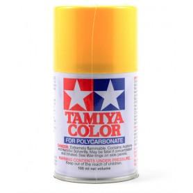PS6 jaune peinture lexan Tamiya