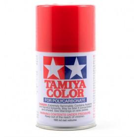 PS2 rouge peinture lexan Tamiya
