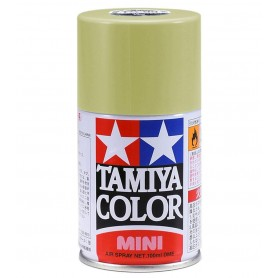 TS87 Titane Doré peinture spéciale ABS Tamiya