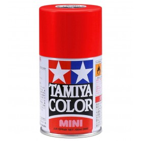 TS85 Rouge Mica Vif brillant peinture spéciale ABS Tamiya