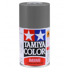 TS82 Noir Caoutchouc mat peinture spéciale ABS Tamiya