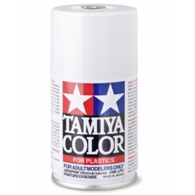 TS26 Blanc brillant peinture spéciale ABS Tamiya