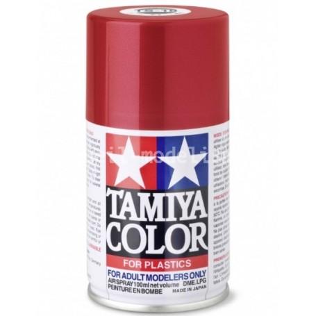 TS18 Rouge Métal brillant peinture spéciale ABS Tamiya