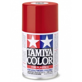 TS8 Rouge Italien brillant peinture spéciale ABS Tamiya