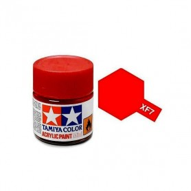 XF7 rouge mat pot Tamiya