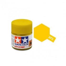 XF3 jaune mat pot Tamiya