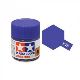 X16 violet brillant pot Tamiya