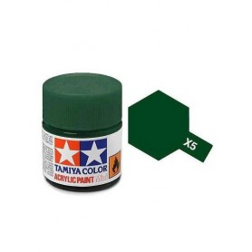X5 vert brillant pot Tamiya
