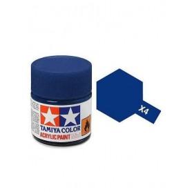 X4 bleu foncé brillant pot Tamiya