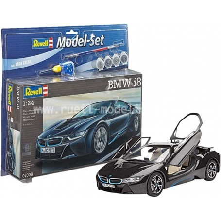 BMW I8 1/24e maquette 67008 Revell