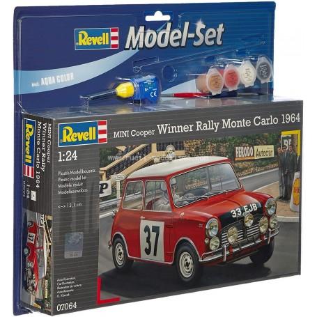 MINI COOPER MONTE CARLO 1/24e maquette 67064 Revell