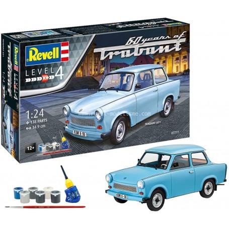 Trabant 601S 1/24e maquette 07777 Revell