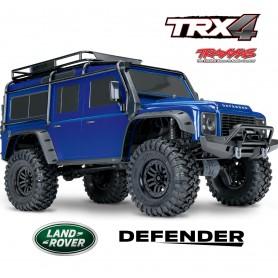TRX4 Crawler Land Rover Defender D110 gris RTR TRX82056 Traxxas