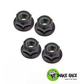 Ecrous de roues  acier noir 100542 Snake Race