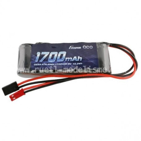 Batterie 6V 1700 mah en long GENS