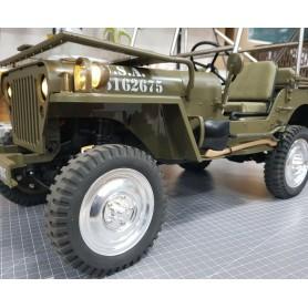 Jantes aluminium Jeep 1/6e H-TECH