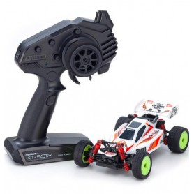 MINI-Z MB010 4WD 1/24 INFERNO MP9 TKI3 BLANC/NOIR 32091WBK Kyosho