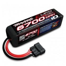 Batterie 14,8V 6700 mah ID LIPO 2889X Traxxas