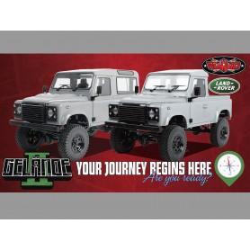 Gelande II + carrosserie Defender D90 Z-K0064 RC4WD