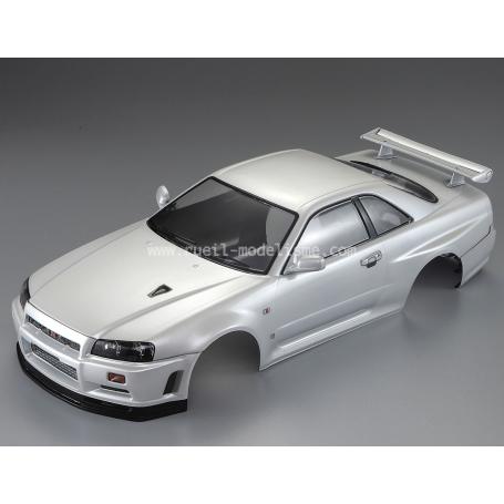 Carrosserie Nissan Skyline R34 blanc perle peinte 48644 Killer Body