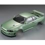 Carrosserie Nissan Skyline R34 champagne vert peinte 48646 Killer Body