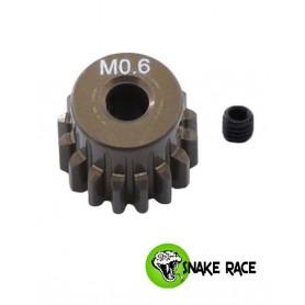 Pignon moteur 13dts module 0.6 06-13 Snake Race