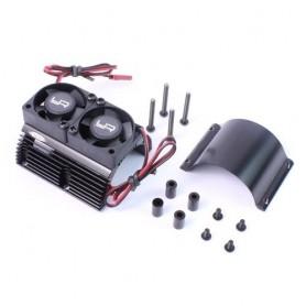 Radiateur moteur double ventilateur 1/8e YA-0261BK Yeah Racing