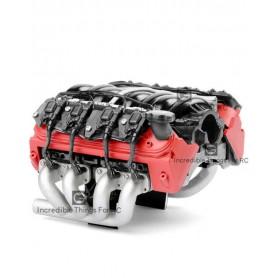 Simulation moteur 36mm LS7 V8 G153R GRC