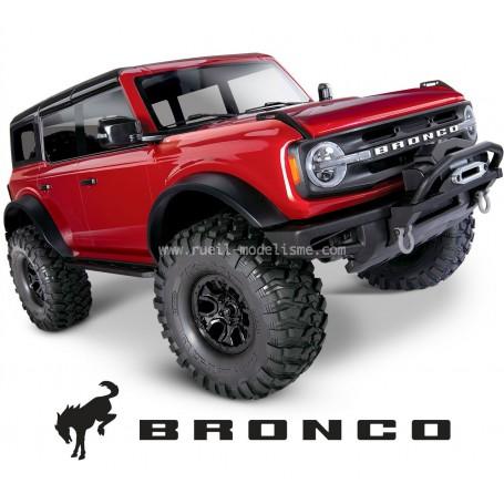TRX4 Crawler BRONCO rouge RTR 92076-4 Traxxas