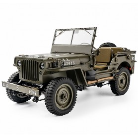 Jeep Willys MB 1941 1/12e RTR ROC201RTR ROC Hobby