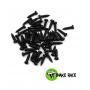 Micro vis acier tête ronde  1.2 x 4.9 mm 0690 Snake Race