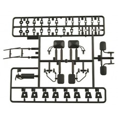 Kit accessoires ext. carrosseries AX80038 Axial