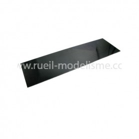 Plaque en carbone 1mm 73202 Topcad
