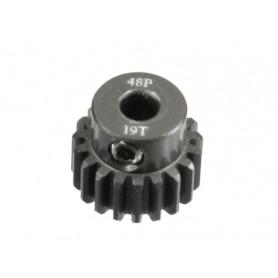 Pignon acier 48DP 19dts 51619 Topcad