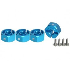 Hexagones de roues 6mm 3RAC-WX126/LB 3racing