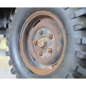 Effet rouille Scenic rust Deluxe materials