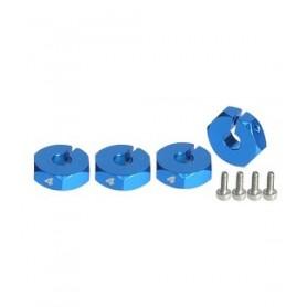 Hexagones de roues 4mm 3RAC-WX124/LB 3racing