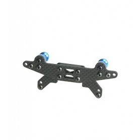 Support amortisseurs AR carbone DF-03RA DF03RA-01/WO 3racing