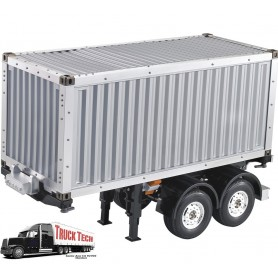 Container 20 pieds + remorque 140407 Truck tech